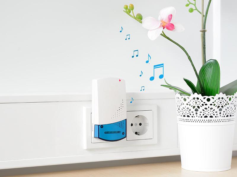 klingel erweiterung funk funkklingel f r bestehende klingelanlage 32 melodien ebay. Black Bedroom Furniture Sets. Home Design Ideas