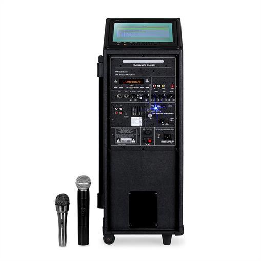 Ibiza Port-9 Mobile Multimedia Pa-Komplettanlage 400W ...