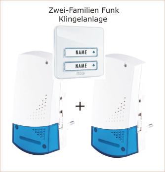 klingel erweiterung mit akustik sensor f r bestehende klingelanlage. Black Bedroom Furniture Sets. Home Design Ideas