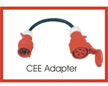 Top megashop365.de - CEE Adapter Starkstrom 16 A Stecker auf 32 A Kupplung QM87