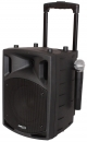 Ibiza NOMAD8CD UHF Mobile Anlage mit Akku Trolley Bluetooth USB CD MP3 PA-Box